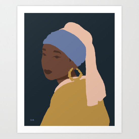 The Girl With A Bamboo Earring by sbllrn