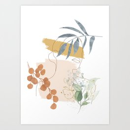 Line in Nature II Art Print