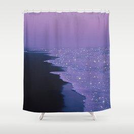 Purple magic Shower Curtain