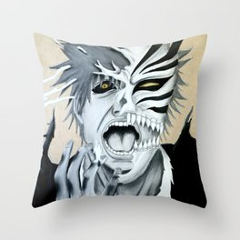 Hollow Agony Throw Pillow