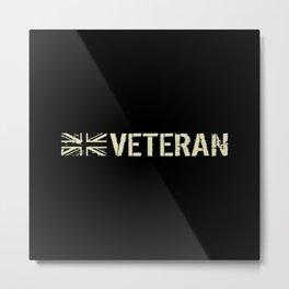 British Veteran Metal Print
