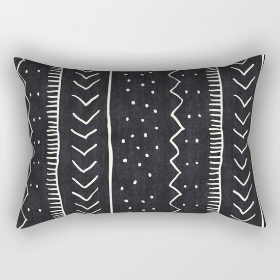 Moroccan Stripe in Black and White by beckybailey1
