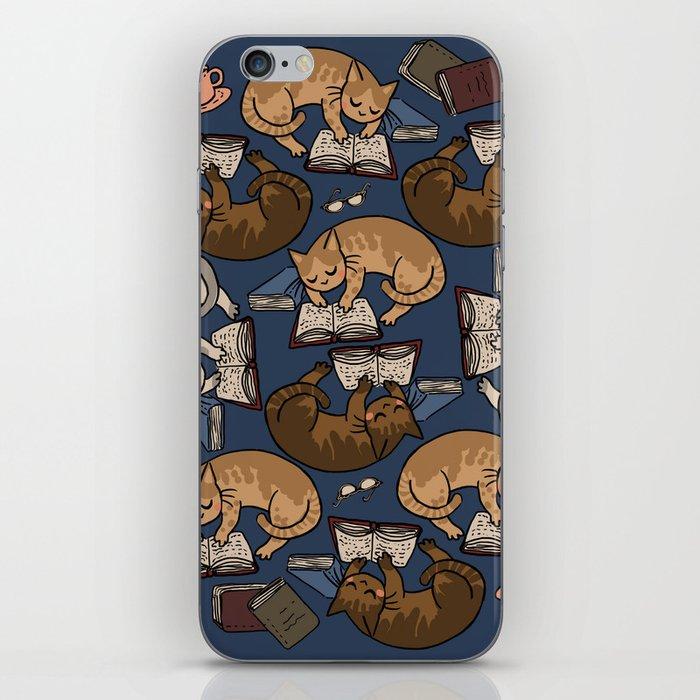 Book Cats iPhone Skin