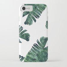 Banana Leaf Watercolor #society6 #buy #decor iPhone 7 Slim Case