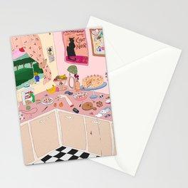 Someboy else's kitchen Stationery Cards