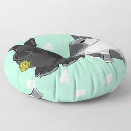Elly and Bobby Floor Pillow