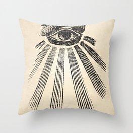 All Seeing Eye Art Print Throw Pillow