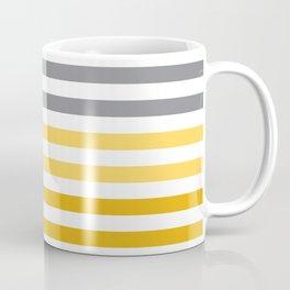 Stripes Gradient - Yellow Coffee Mug