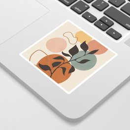 Abstract Minimal Shapes 23 Sticker