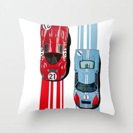 FordvFerrari '66 Throw Pillow