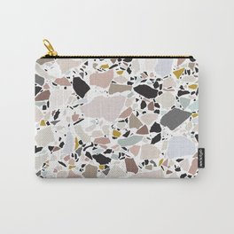 Terrazzo Pattern II. Carry-All Pouch