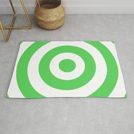 Target (Green & White Pattern) Rug