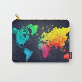World map watercolor 6 Carry-All Pouch