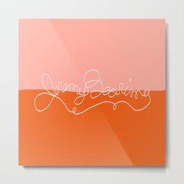 Jeremy Bearimy, Baby in Sunrise Metal Print