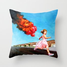 Ignite Throw Pillow