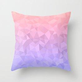 Pastel Ombre Throw Pillow