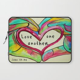 Love One Another John 13:34 Laptop Sleeve