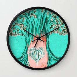 Hearth of Hearts Wall Clock