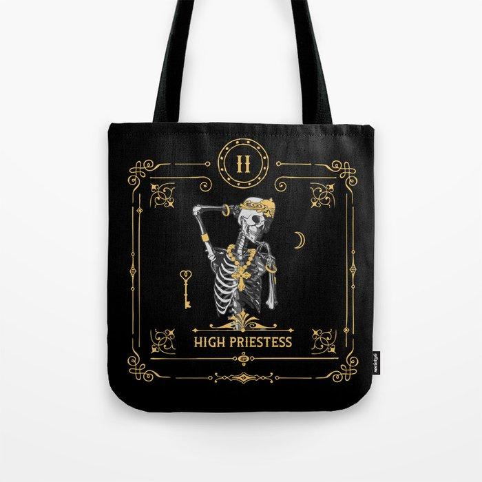 High Priestess II Tarot Card Tote Bag