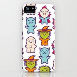 Cute Kawaii Halloween! iPhone Case