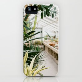 Botanical Garden Tropical iPhone Case