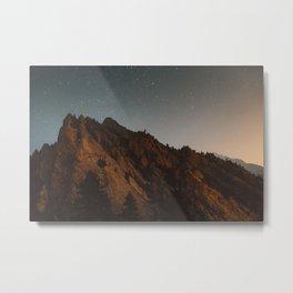 Eldorado Canyon at Night Metal Print