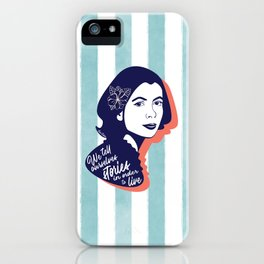 We Tell Stories - Joan Didion iPhone Case