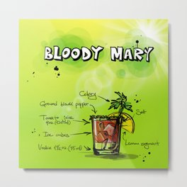 BloodyMary_002_by_JAMFoto Metal Print