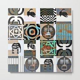 MFUMO III Metal Print