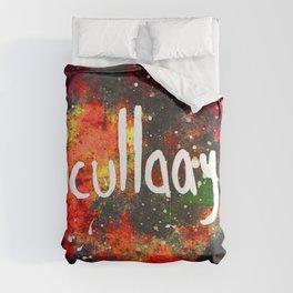 Scullayyy Red & Orange Nebula Comforters
