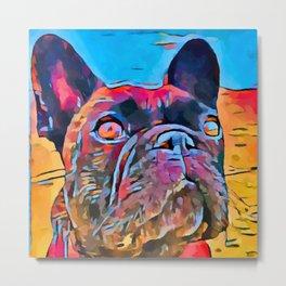 French Bulldog 6 Metal Print