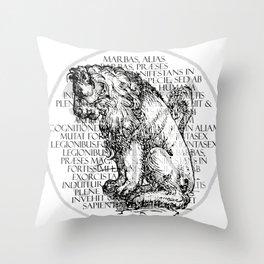 Hierarchia Inferni - Marbas Throw Pillow