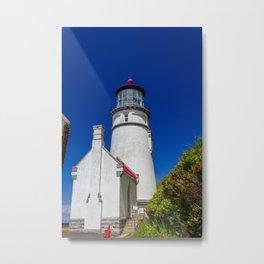 Aspirations - Heceta Head Lighthouse Metal Print