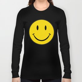 Smiley Happy Face Long Sleeve T-shirt