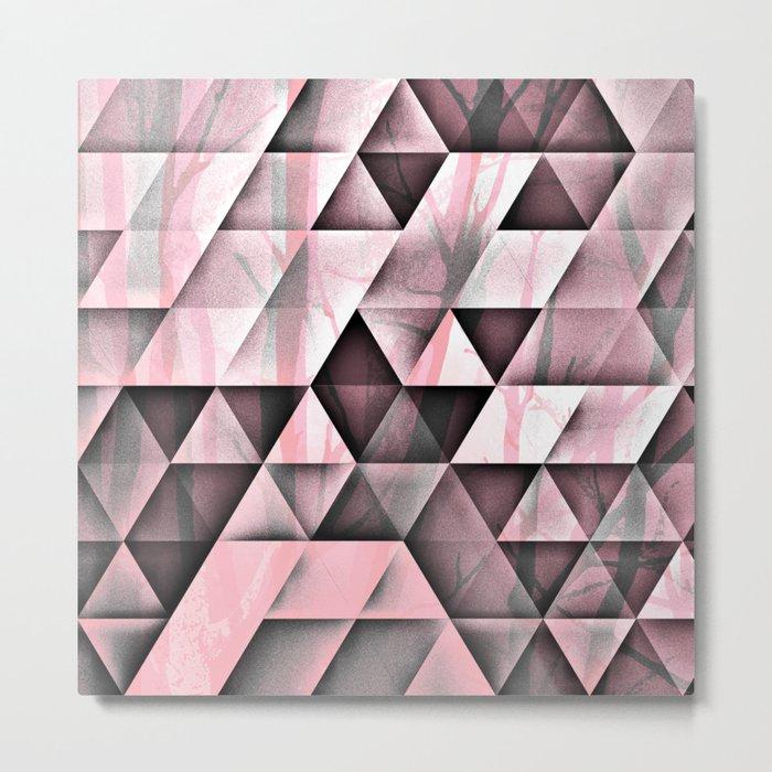 Pink's In Metal Print