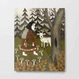 Galiena's goat Metal Print