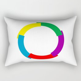 Flag of La Francophonie symbol french language speakers emblem Rectangular Pillow