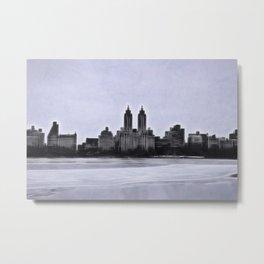 New York's Eldorado and Jackie O's Reservoir Metal Print