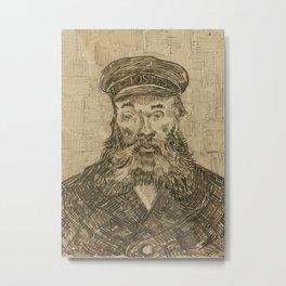 Portrait of Joseph Roulin 2 Metal Print