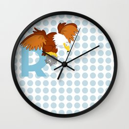 r for roc Wall Clock