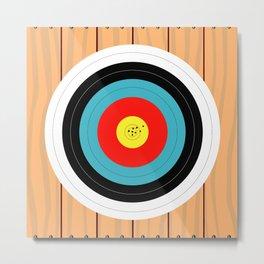 Shooting Target Metal Print