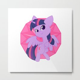 Chibi Princess Twilight Sparkle Metal Print