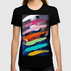 Composition 505 Black SMALL Womens Fitted Tee