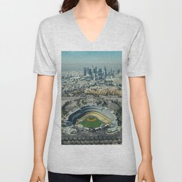 Dodger Stadium Unisex V-Neck