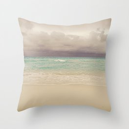 Coming Storm Throw Pillow