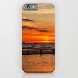 Sunset Seascape iPhone Case