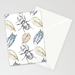 Bugs and leaves Stationery Cards