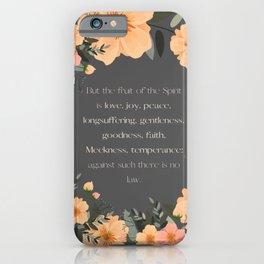 Fruit of the Spirit iPhone Case