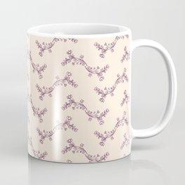 Victorian Floral Coffee Mug