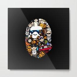 Hypebeast ape Graffiti  Metal Print